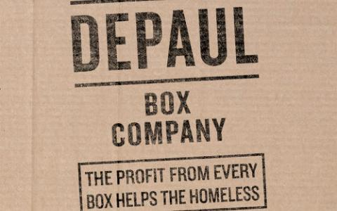 圖一:The Depaul Box Company
